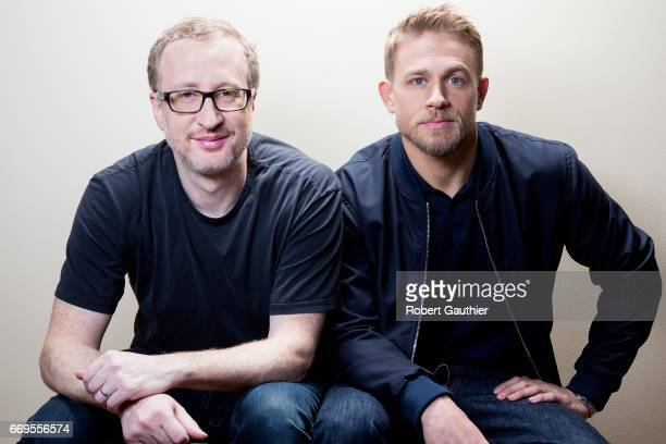 Actor Charlie Hunnam and director James Grey are photographed for Los Angeles Times on April 8 2017 in Los Angeles California PUBLISHED IMAGE CREDIT...
