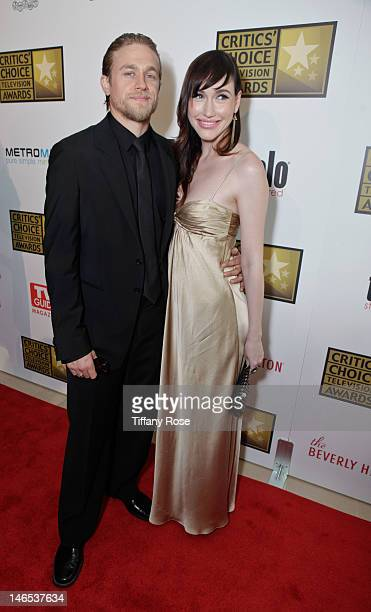 Actor Charlie Hunnam and guest attend the 2nd annual Critic's Choice Television Awards sponsored by Metromint water at The Beverly Hilton Hotel on...
