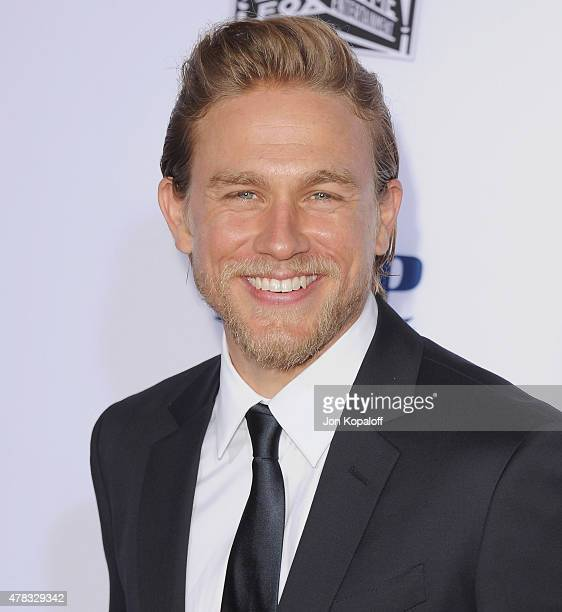 Actor Charlie Hunnam arrives at FX's Sons Of Anarchy Premiere at TCL Chinese Theatre on September 6 2014 in Hollywood California