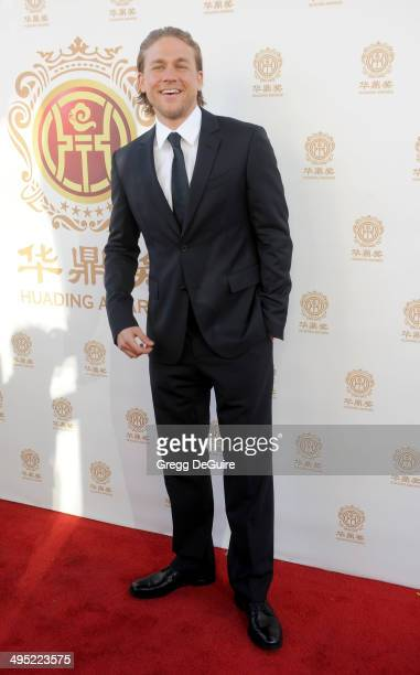 Actor Charlie Hunnam arrives at the 2014 Huading Film Awards at The Montalban Theater on June 1 2014 in Hollywood California