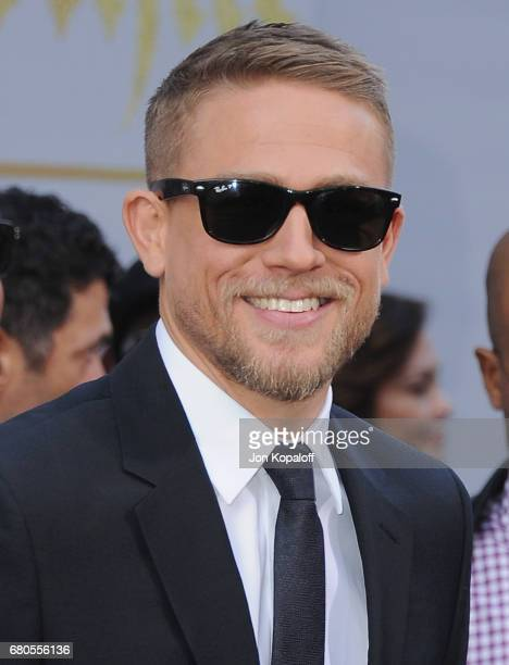 Actor Charlie Hunnam arrives at the Los Angeles Premiere King Arthur Legend Of The Sword at TCL Chinese Theatre on May 8 2017 in Hollywood California