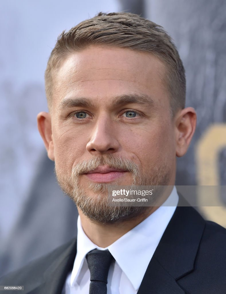 Actor Charlie Hunnam arrives at the premiere of Warner Bros. Pictures' 'King Arthur: Legend of the Sword' at TCL Chinese Theatre on May 8, 2017 in Hollywood, California.