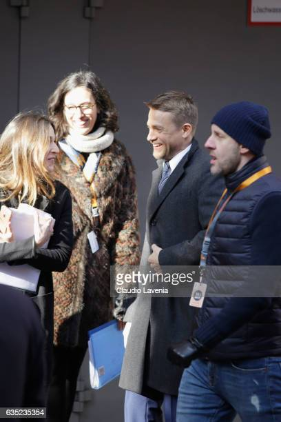 Actor Charlie Hunnam arrives at the 'The Lost City of Z' photo call during the 67th Berlinale International Film Festival Berlin at Grand Hyatt Hotel...