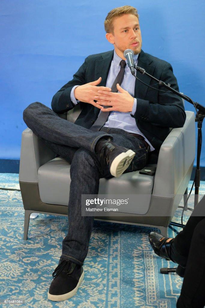 Actor Charlie Hunnam Attends Siriusxm S Entertainment Weekly Radio