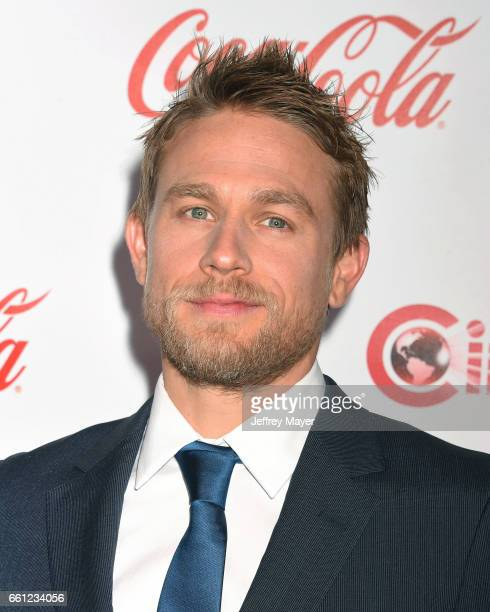 Actor Charlie Hunnam attends the CinemaCon Big Screen Achievement Awards at Omnia Nightclub at Caesars Palace during CinemaCon, the official...