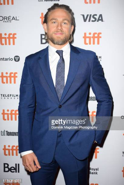 "Actor Charlie Hunnam attends the ""Jungleland"" photo call during the 2019 Toronto International Film Festival at Princess of Wales Theatre on..."