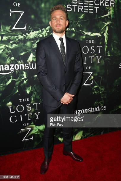 Actor Charlie Hunnam attends the premiere of Amazon Studios' 'The Lost City Of Z' at ArcLight Hollywood on April 5 2017 in Hollywood California