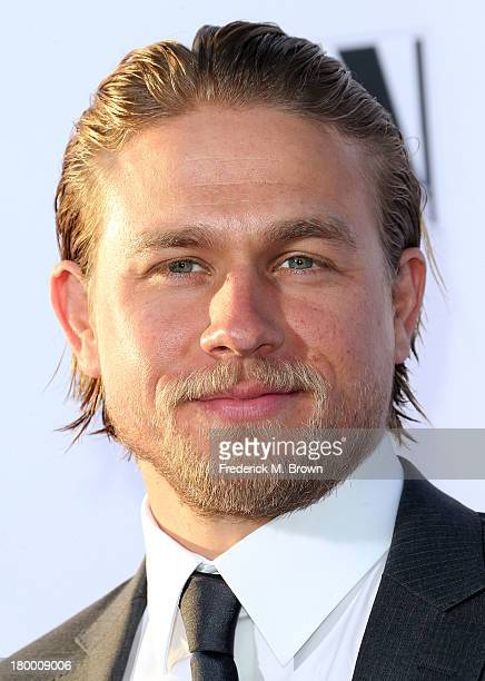 Actor Charlie Hunnam attends the Premiere of FX's 'Sons of Anarchy' Season 6 at the Dolby Theatre on September 7 2013 in Hollywood California
