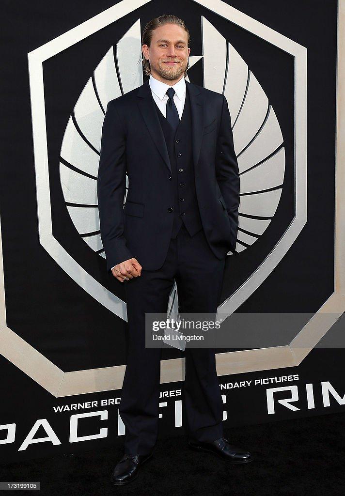 Actor Charlie Hunnam attends the premiere of Warner Bros. Pictures and Legendary Pictures' 'Pacific Rim' at the Dolby Theatre on July 9, 2013 in Hollywood, California.