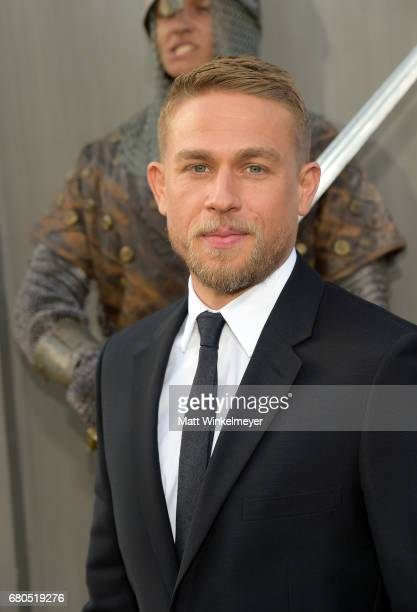 Actor Charlie Hunnam attends the premiere of Warner Bros Pictures' King Arthur Legend Of The Sword at TCL Chinese Theatre on May 8 2017 in Hollywood...
