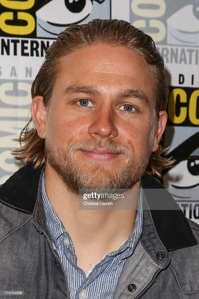 Actor Charlie Hunnam attends the 'Sons of Anarchy' press line during day 4 of Comic-Con International on July 21, 2013 in San Diego, California.