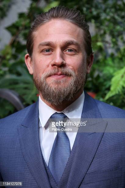 Actor Charlie Hunnam attends the Triple Frontier premiere at Callao Cinema on March 06, 2019 in Madrid, Spain.