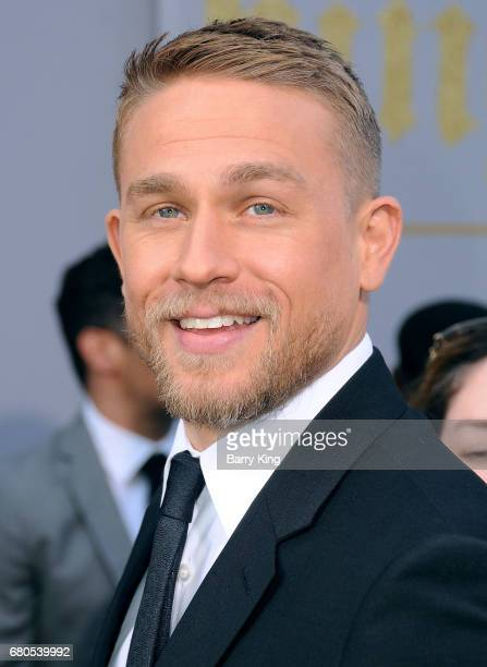 Actor Charlie Hunnam attends world premiere of Warner Bros Pictures' 'King Arthur Legend Of The Sword' at TCL Chinese Theatre on May 8 2017 in...