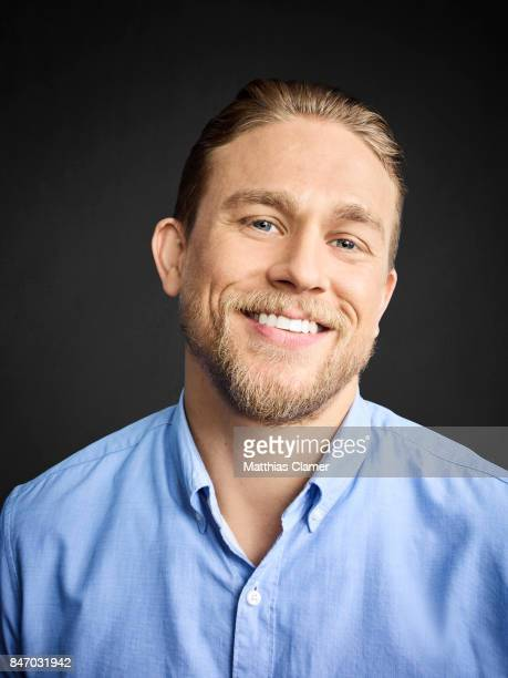 Actor Charlie Hunnam from 'King Arthur' is photographed for Entertainment Weekly Magazine on July 23 2016 at Comic Con in the Hard Rock Hotel in San...
