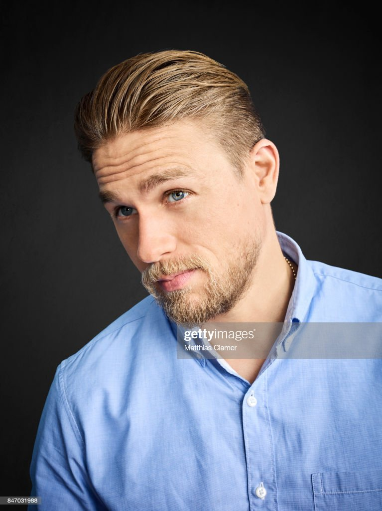 Actor Charlie Hunnam From King Arthur Is Photographed For