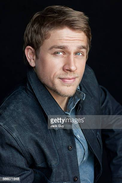 Actor Charlie Hunnam is photographed for Emmy Magazine on April 26, 2012 in Los Angeles, California.