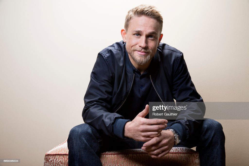 Charlie Hunnam and James Grey, Los Angeles Times, April 15, 2017