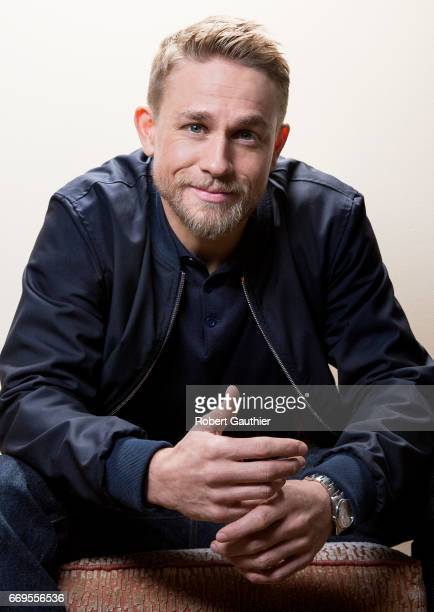 Actor Charlie Hunnam is photographed for Los Angeles Times on April 8 2017 in Los Angeles California PUBLISHED IMAGE CREDIT MUST READ Robert...