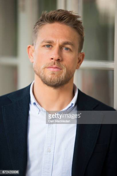 Actor Charlie Hunnam is photographed for USA Today on April 13, 2017 in Los Angeles, California.