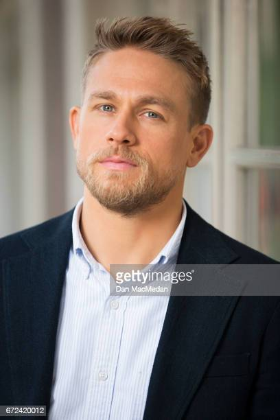 Actor Charlie Hunnam is photographed for USA Today on April 13 2017 in Los Angeles California