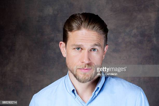 Actor Charlie Hunnam of 'King Arthur: Legend of the Sword' is photographed for Los Angeles Times at San Diego Comic Con on July 22, 2016 in San...