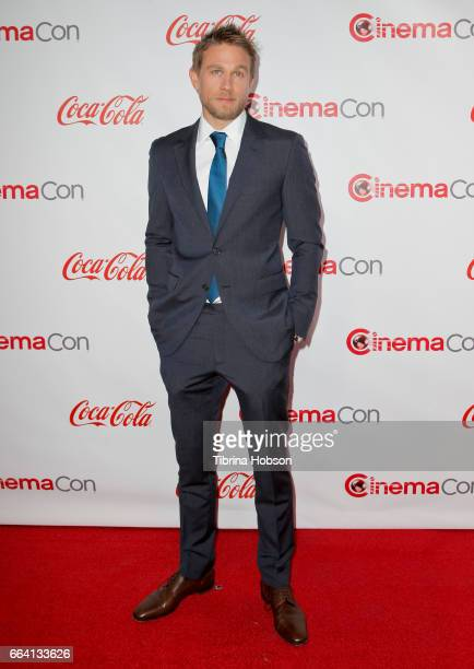 Actor Charlie Hunnam recipient of the Male Star of the Year Award attends the CinemaCon Big Screen Achievement Awards at Omnia Nightclub at Caesars...