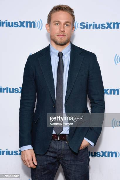 Actor Charlie Hunnam visits SiriusXM Studios on May 1 2017 in New York City