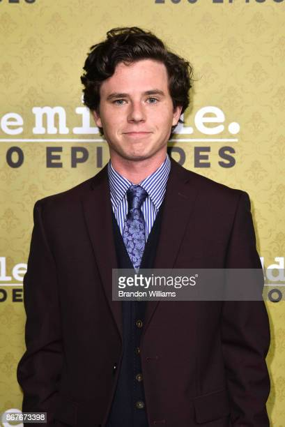 Actor Charlie McDermott attends ABC's 'The Middle' 200th episode celebration at Fig Olive on October 28 2017 in West Hollywood California