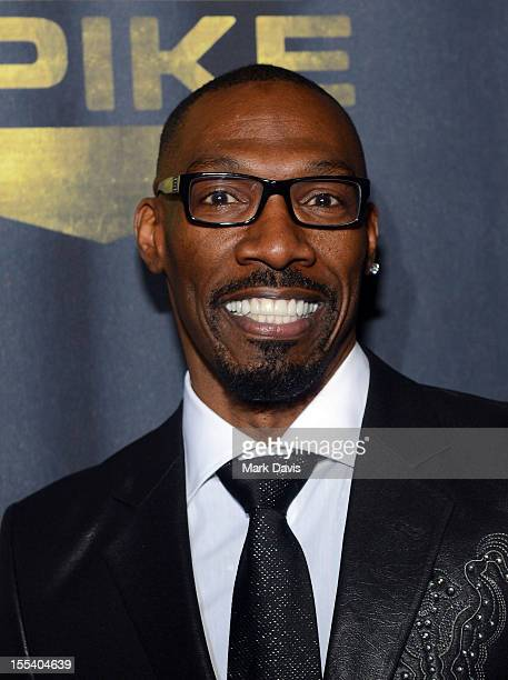 Actor Charlie Murphy arrives at Spike TV's 'Eddie Murphy One Night Only' at the Saban Theatre on November 3 2012 in Beverly Hills California