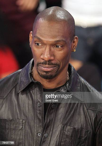 Actor Charlie Murphy attends a taping of BET's 106 Park at the BET Studios on December 12 2007 in New York City