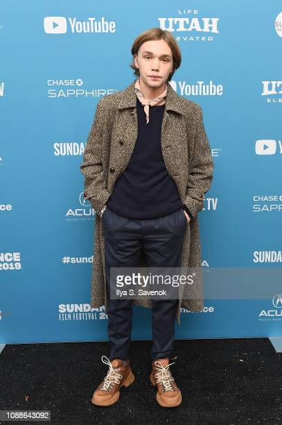 Actor Charlie Plummer attends the Share Premiere during the 2019 Sundance Film Festival at Library Center Theater on January 25 2019 in Park City Utah