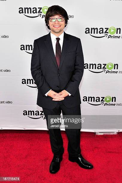 Actor Charlie Saxton arrives at Amazoncom red carpet launch party for Alpha House and Betas Los Angeles Premieres at Boulevard3 on November 6 2013 in...