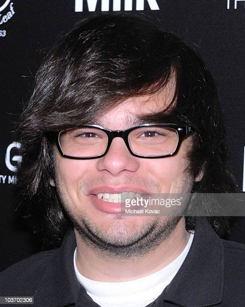 Actor Charlie Saxton arrives at The Art of Elysium's 2nd Annual Genesis Awards at Milk Studios on August 28, 2010 in Hollywood, California.