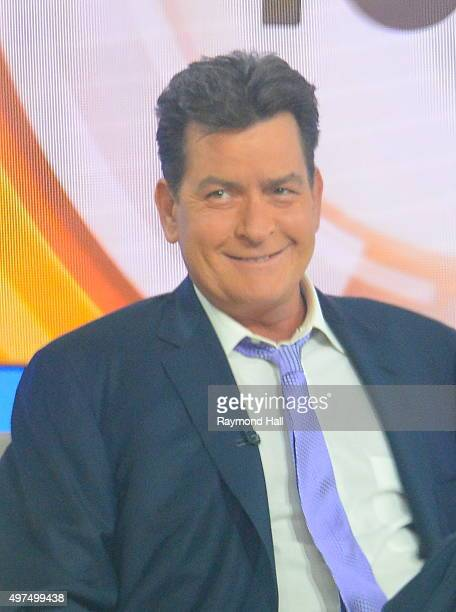 Actor Charlie Sheen seen at NBC's TODAY Show on November 17 2015 in New York City It was expected that Sheen would announce he is HIV positive in an...