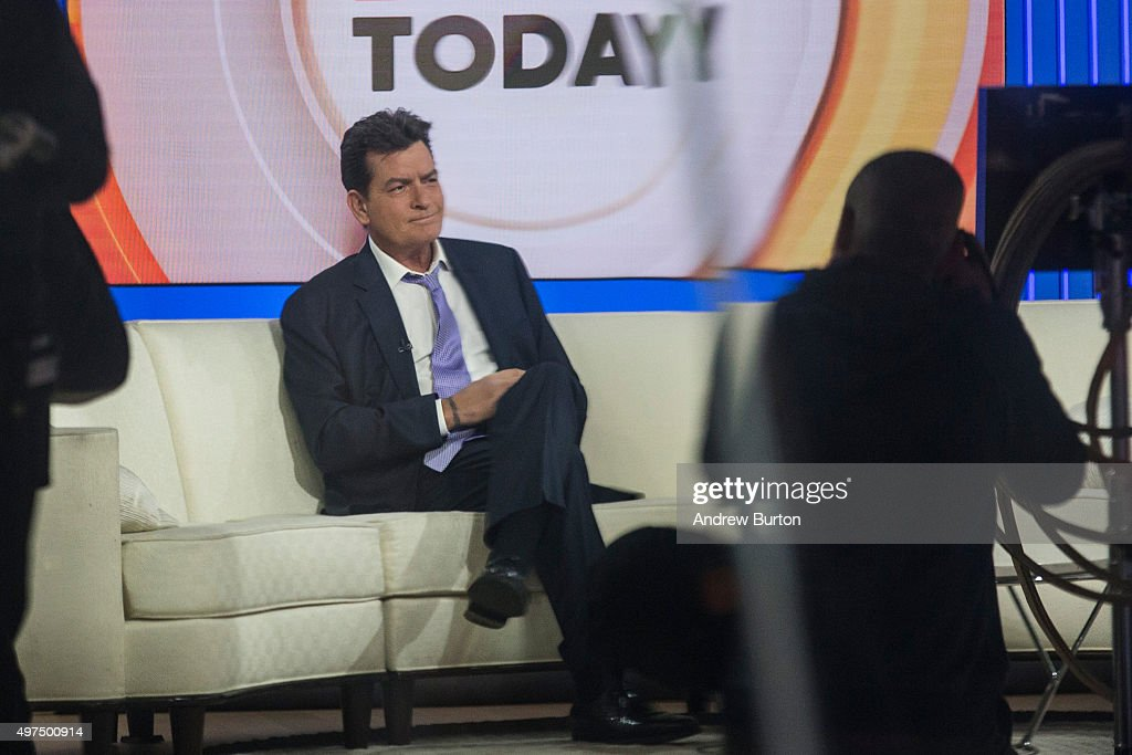 Actor Charlie Sheen Announces That He Is HIV Positive On Today Show