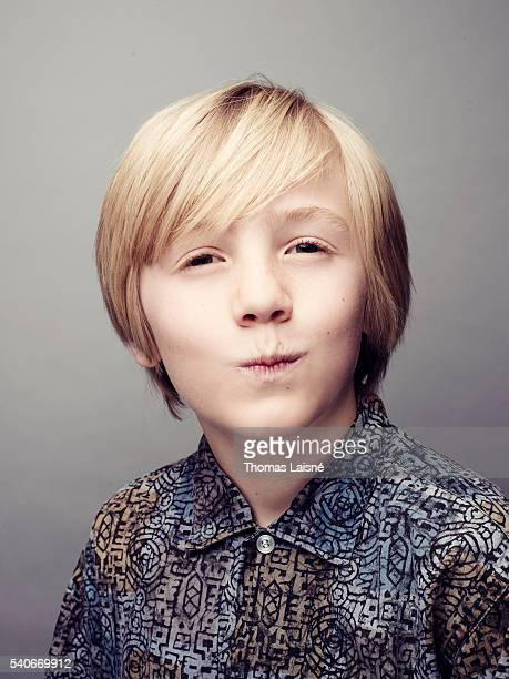 Actor Charlie Shotwell is photographed for Self Assignment on May 14 2016 in Cannes France