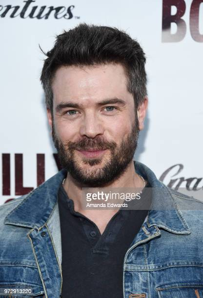 Actor Charlie Weber arrives at the Los Angeles premiere of 'Billy Boy' at the Laemmle Music Hall on June 12 2018 in Beverly Hills California