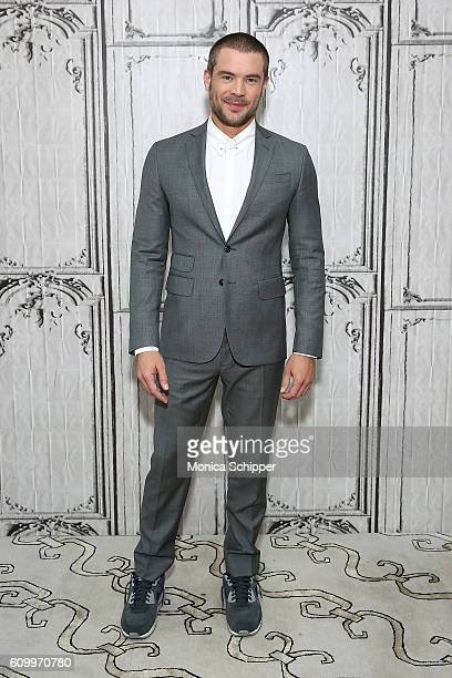 Actor Charlie Weber attends The Build Series Presents Charlie Weber Discussing The Show 'How To Get Away With Murder' at AOL HQ on September 23 2016...