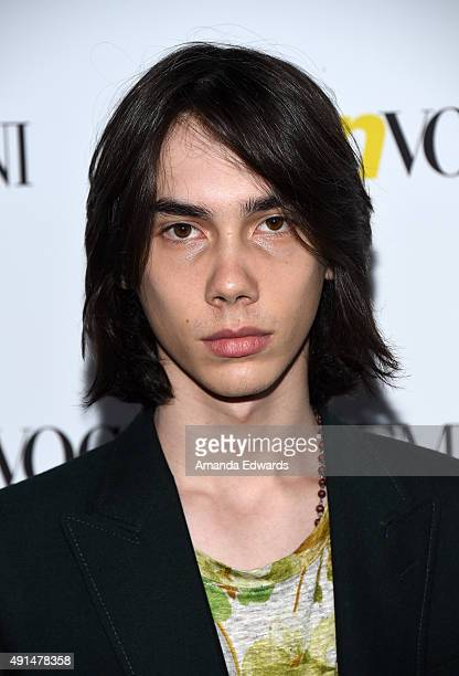 Actor Charlie Wright arrives at Teen Vogue's 13th Annual Young Hollywood Issue Launch Party on October 2 2015 in Los Angeles California