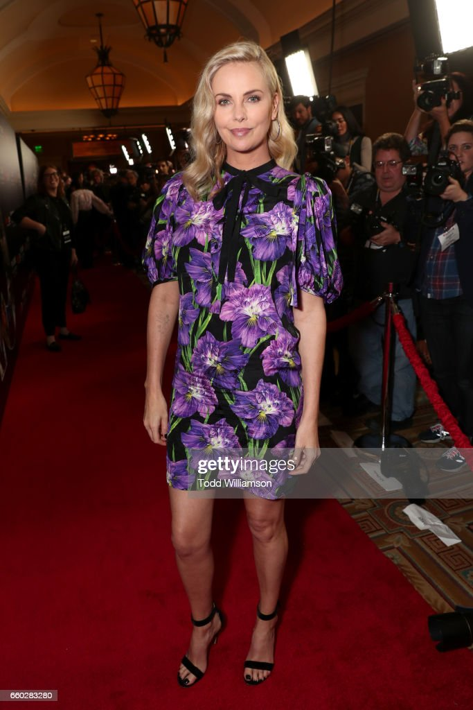 Actor Charlize Theron at CinemaCon 2017- Focus Features: Celebrating 15 Years and a Bright Future at Caesars Palace during CinemaCon, the official convention of the National Association of Theatre Owners, on March 29, 2017 in Las Vegas Nevada.
