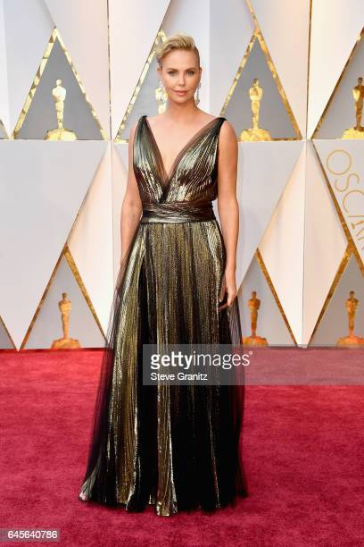 Actor Charlize Theron attends the 89th Annual Academy Awards at Hollywood & Highland Center on February 26, 2017 in Hollywood, California.