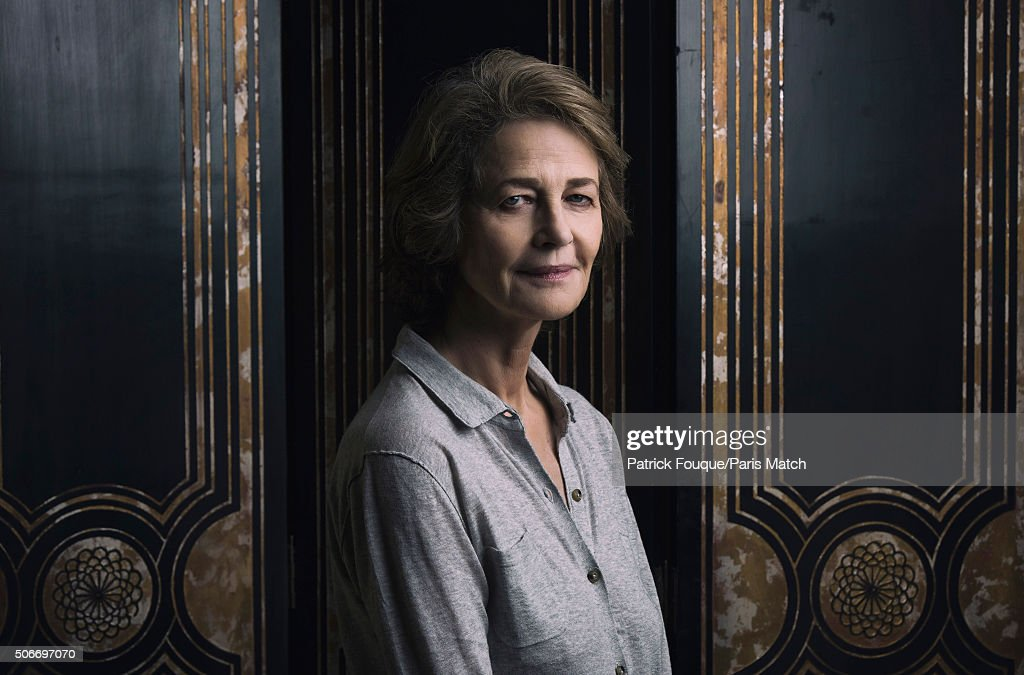 Charlotte Rampling, Paris Match Issue 3479, January 27, 2016 : News Photo