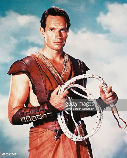 Actor Charlton Heston as Judah BenHur in the historical epic 'BenHur' 1959