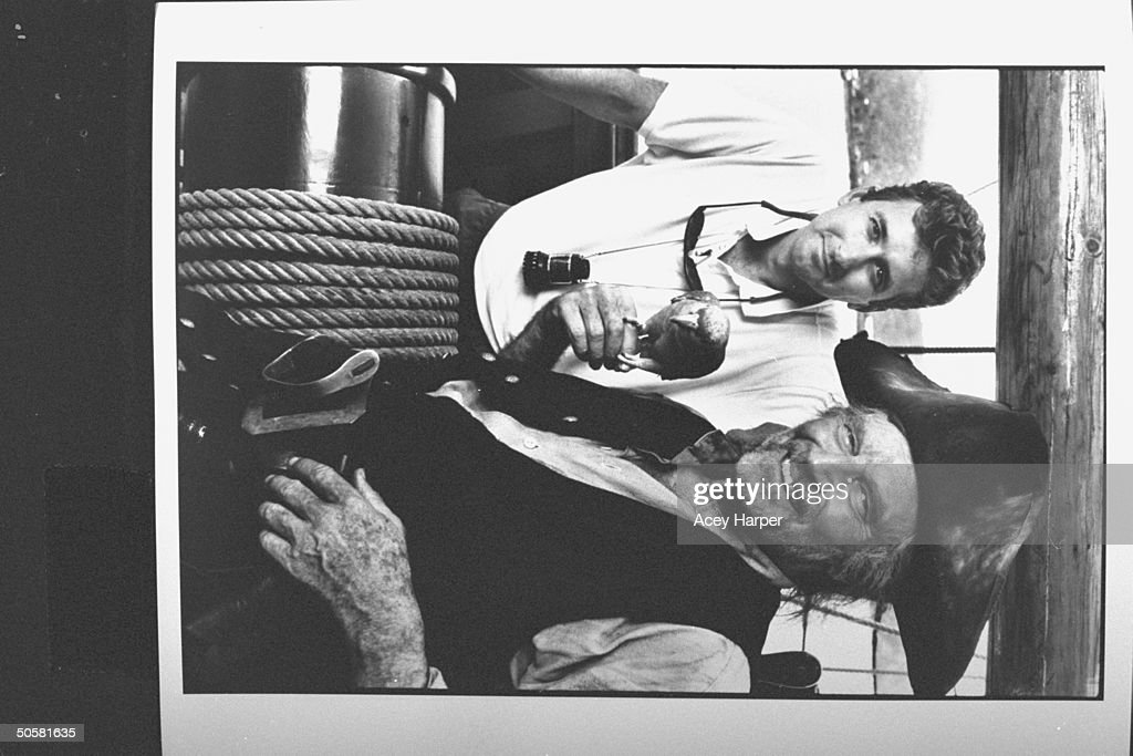 Fraser Heston;Charlton Heston [& Family] : News Photo