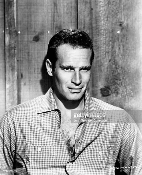 Actor Charlton Heston