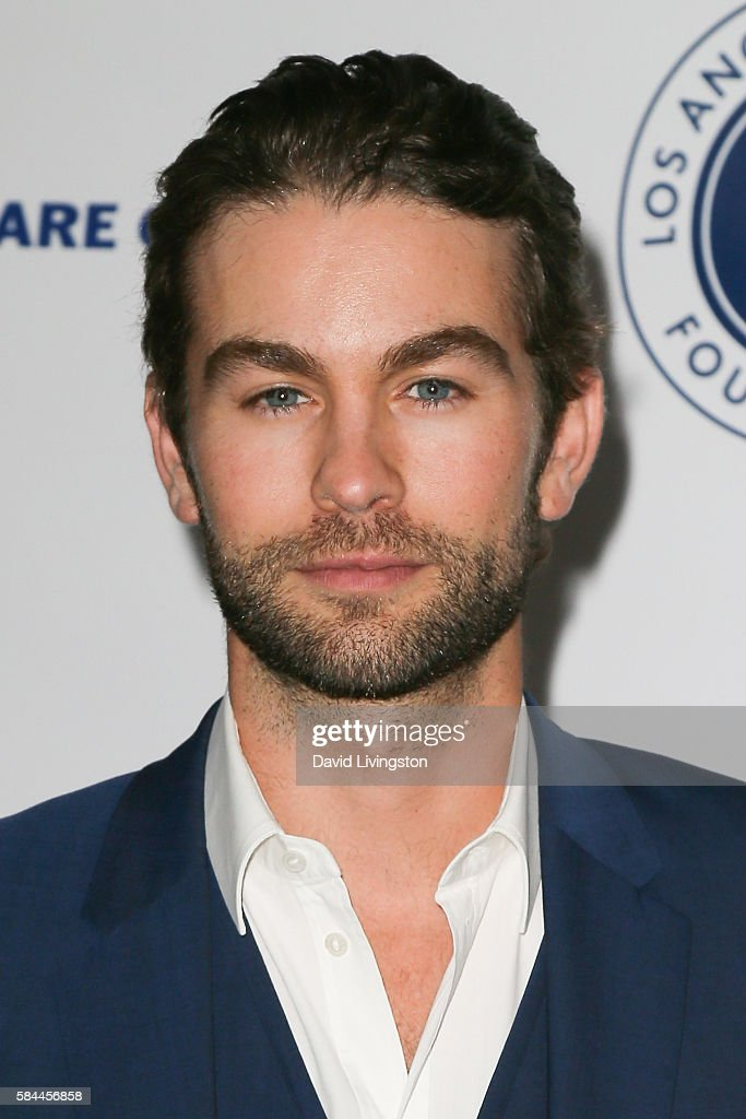 Actor Chase Crawford arrives at the Los Angeles Dodgers Foundation Blue Diamond Gala at the Dodger Stadium on July 28, 2016 in Los Angeles, California.
