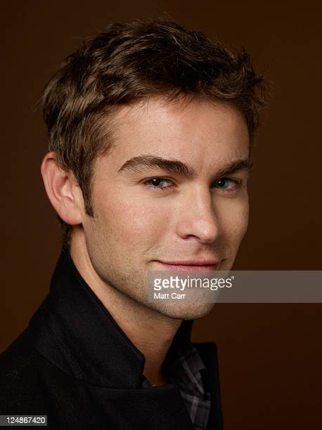 Actor Chase Crawford of Peace Love And Misunderstanding poses during the 2011 Toronto International Film Festival at the Guess Portrait Studio on...