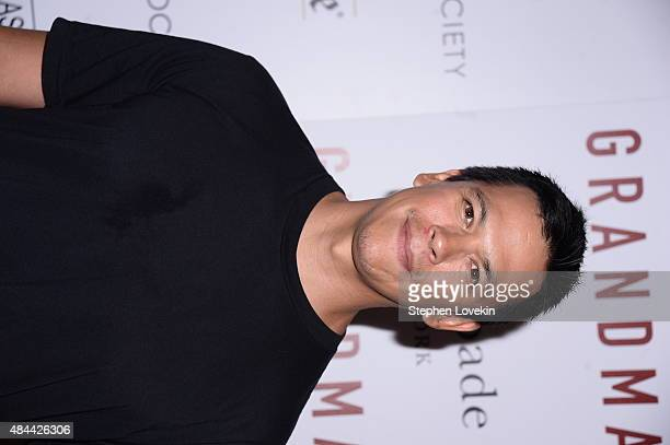 Actor Chaske Spencer attends a screening of Sony Pictures Classics' Grandma hosted by The Cinema Society and Kate Spade at Landmark Sunshine Cinema...