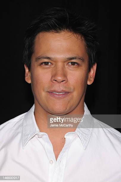 Actor Chaske Spencer attends the Abraham Lincoln Vampire Slayer 3D New York Premiere at AMC Loews Lincoln Square 13 theater on June 18 2012 in New...