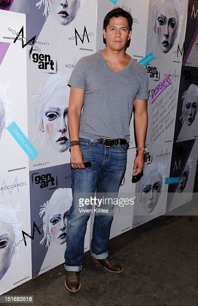 Actor Chaske Spencer attends the GenArt 14th Annual Fresh Faces In Fashion Presented By Moroccanoil on September 9 2012 in New York City